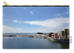 Summers End Capitola Beach Carry-all Pouch by Amelia Racca