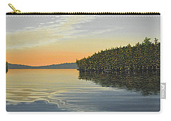 Carry-all Pouch featuring the painting Summers End by Kenneth M  Kirsch