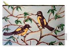 Carry-all Pouch featuring the painting Summertime by Sheri Keith