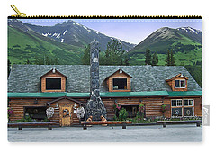 Summit Lake Lodge Alaska Carry-all Pouch