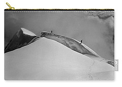 T-702412-bw-summit Of Mt. Robson Carry-all Pouch