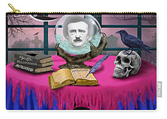 Summoning Edgar Allan Poe Carry-all Pouch by Glenn Holbrook
