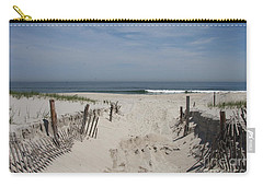 Sun And Sand Carry-all Pouch by Christiane Schulze Art And Photography