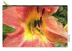 Sun Day Lilly  Carry-all Pouch