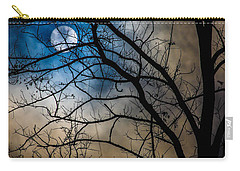 Sun Hidden In Clouds Carry-all Pouch