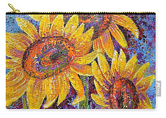 Sun-kissed Beauties Carry-all Pouch
