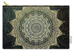 Sun Mandala - Background Variation Carry-all Pouch