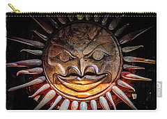 Sun Mask Carry-all Pouch by Roxy Hurtubise