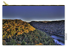Sun On The Hills Carry-all Pouch