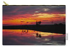 Sun Set At Cowen Creek Carry-all Pouch
