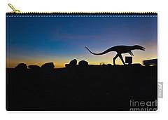 Sun Set Dinosaurs Carry-all Pouch