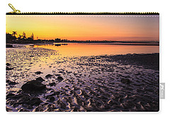 Sun Sets On Bramble Bay Carry-all Pouch