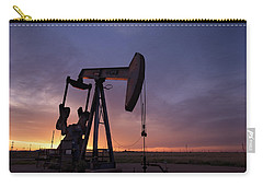 Sun Setting On Big Money Carry-all Pouch by Melany Sarafis