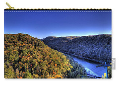 Sun Setting On Fall Hills Carry-all Pouch