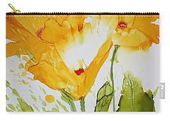 Sun Splashed Poppies Carry-all Pouch