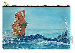 Sunbathing Mermaid Carry-all Pouch