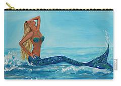 Sunbathing Mermaid Carry-all Pouch