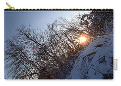 Carry-all Pouch featuring the photograph Sunbeam by Robert Nickologianis