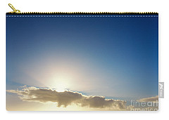 Sunbeams Behind Clouds Carry-all Pouch