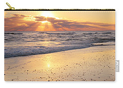 Sunbeams On The Beach Carry-all Pouch