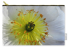 Carry-all Pouch featuring the photograph Sunburst by Deb Halloran