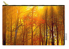 Sunburst In The Forest Carry-all Pouch