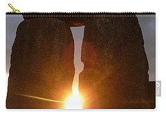 Carry-all Pouch featuring the photograph Sunburst by Vicki Spindler