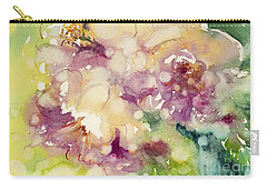 Sundappled Rose Carry-all Pouch by Judith Levins