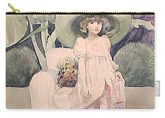 Carry-all Pouch featuring the painting Sunday Morning by Marina Gnetetsky
