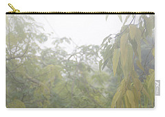Carry-all Pouch featuring the photograph Sunday Street Fog by Vicki Ferrari