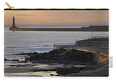 Sunderland Sunrise Carry-all Pouch by Julia Wilcox