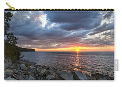 Sundown Bay Carry-all Pouch by Bill Pevlor