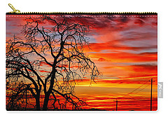 Sundown On Jeffcoat Carry-all Pouch