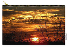 Sundown On The Farm Carry-all Pouch