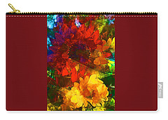 Sunflower 11 Carry-all Pouch by Pamela Cooper