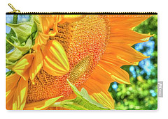 Sunflower 2 Carry-all Pouch by Rod Wiens