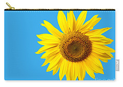 Sunflower Blue Sky Carry-all Pouch