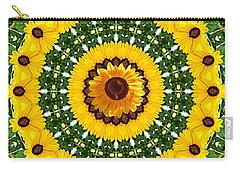 Sunflower Centerpiece Carry-all Pouch
