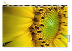 Sunflower Detail Carry-all Pouch