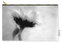 Sunflower In Profile Carry-all Pouch