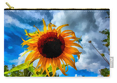 Sunflower Inspiration Carry-all Pouch
