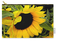 Carry-all Pouch featuring the photograph Sunflower by James C Thomas