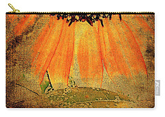 Sunflower Montage Carry-all Pouch by Kathy Bassett