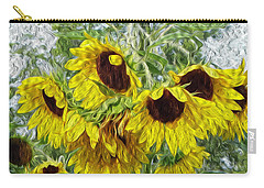 Sunflower Morn II Carry-all Pouch