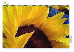 Sunflower Sunny Yellow In New Orleans Louisiana Carry-all Pouch by Michael Hoard