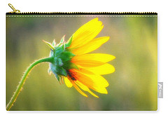 Sunflower Sunrise 6 Carry-all Pouch by Diane Alexander