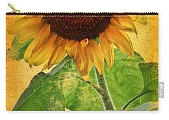 Sunny Sunflower Wall Art Carry-all Pouch