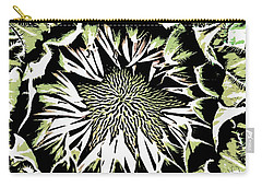 Carry-all Pouch featuring the digital art Sunflower1 by Dragica  Micki Fortuna