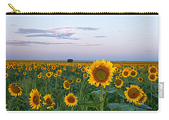 Sunflowers At Sunrise Carry-all Pouch