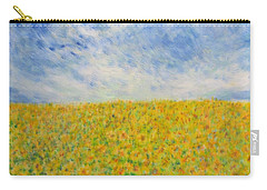 Sunflowers  Field In Texas Carry-all Pouch
